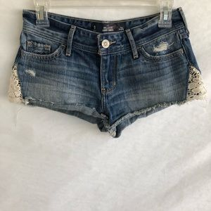Hollister Crochet Knit Shorts